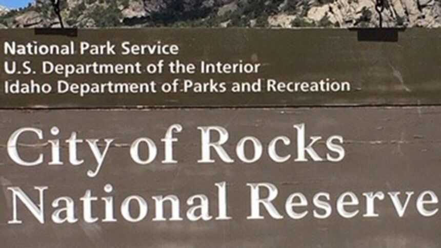 City Of Rocks National Reserve LOGO SING VIA City Of Rocks National Reserve FACEBOOK