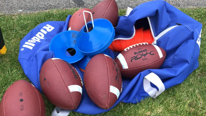 Grid Kid footballs