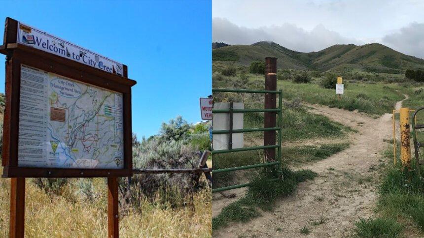 Pipeline maintenance at Pocatello trail areas