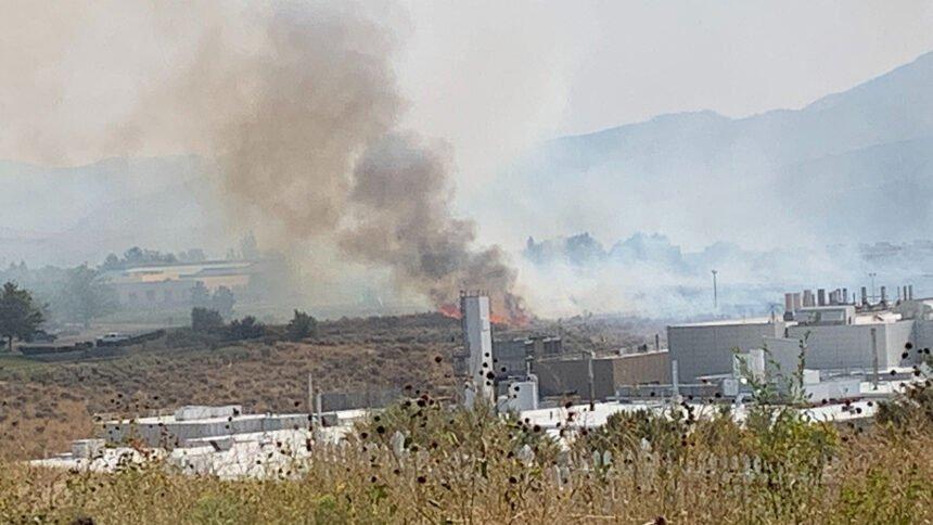 Pocatello fire evacuations underway sept 21