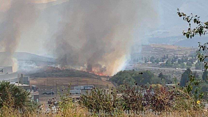 Pocatello fire evacuations underway sept 21 _2