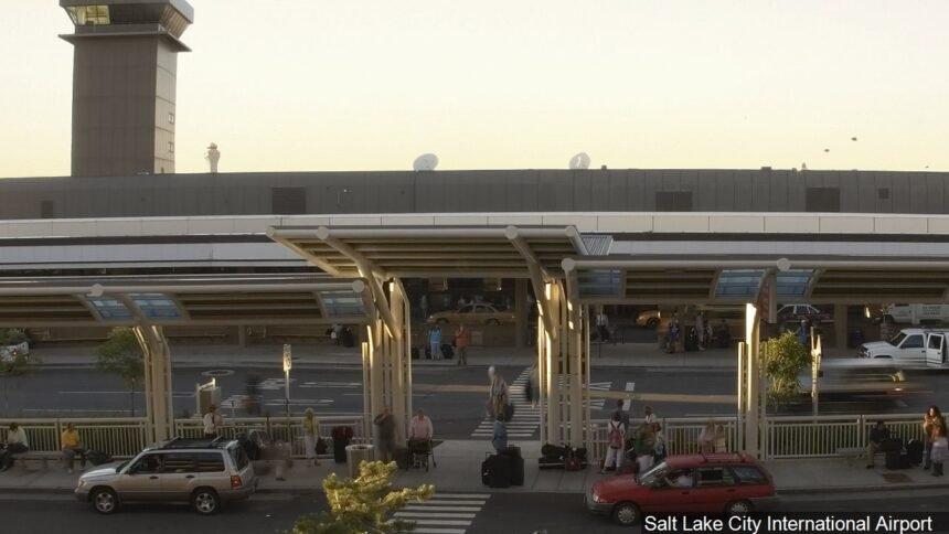 Salt Lake City International Airport logo Salt Lake City International Airport