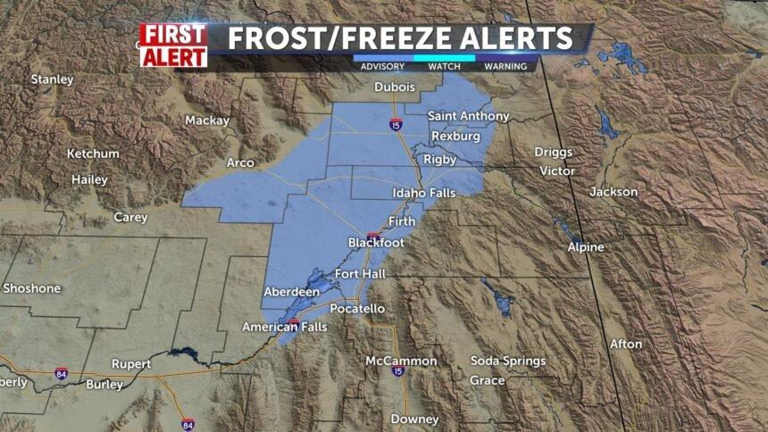 frost advisaory