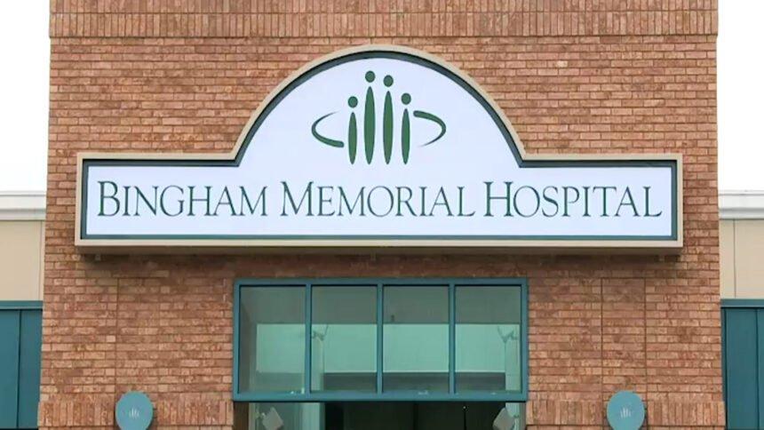 Bingham Memorial Hospital sign logo_093833