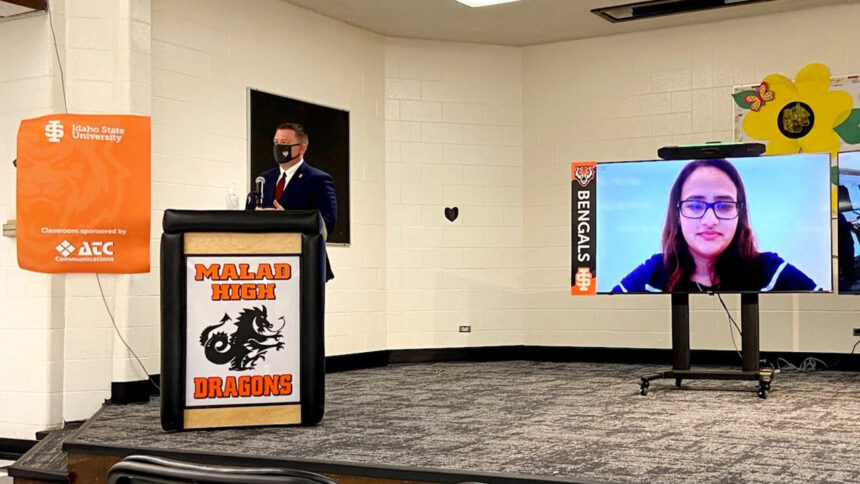 ISU opens distance learning classrooms at area high schools_Malad Open House
