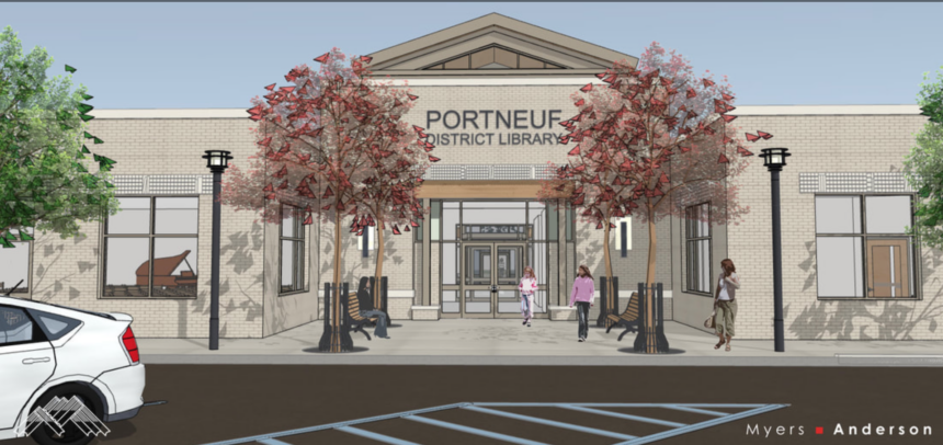 portneuf district library plans