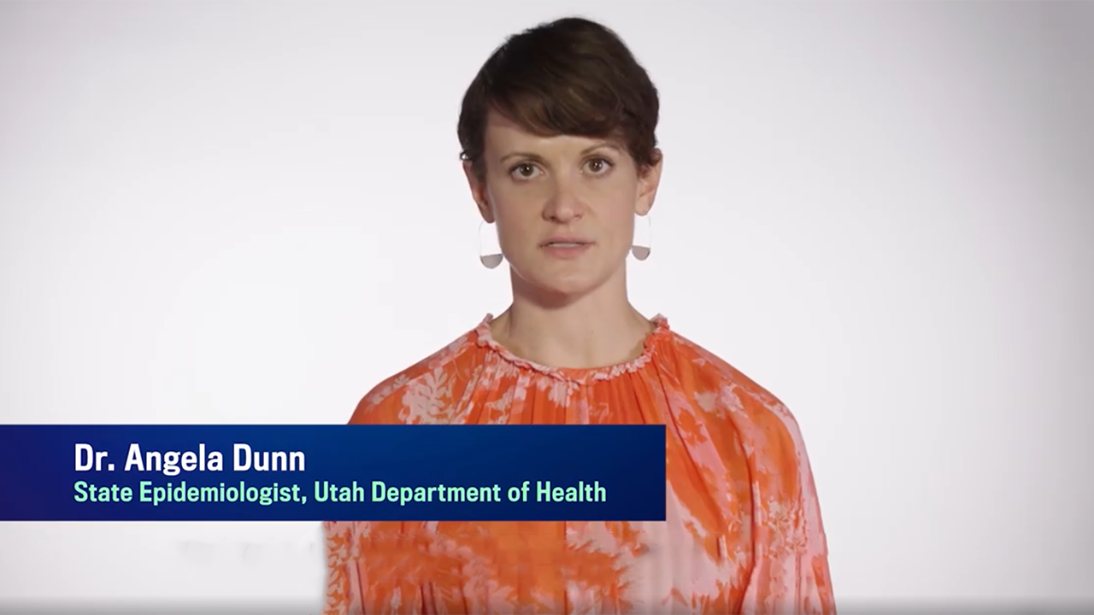 Utah Epidemiologist Dr. Angela Dunn