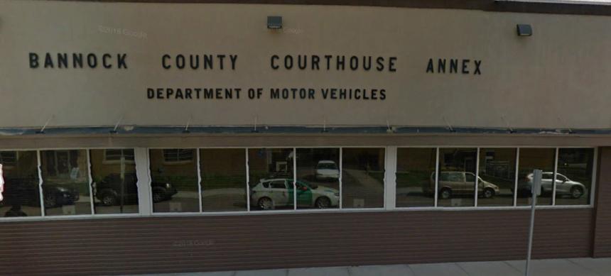 BANNOCK COUINTY DMV