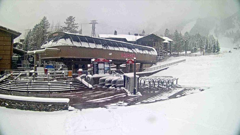 Bridger Gondola webcam Jackson Hole Mountain Resort