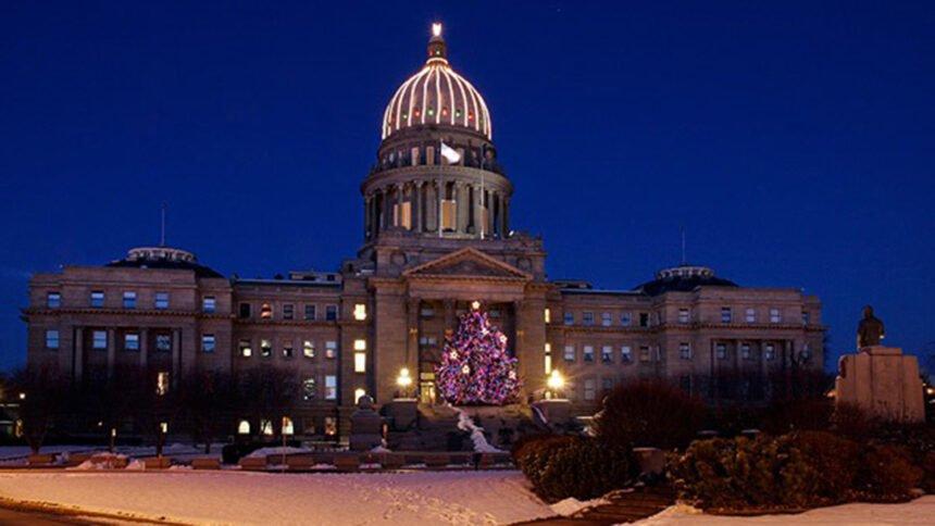 Idaho State Capitol's Christmas Tree 2019_Governor Brad Little