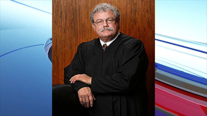 Idaho Supreme Court Chief Justice Roger Burdick