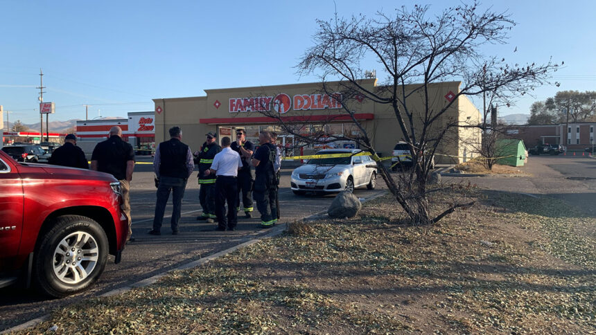 Police investigate report of suspicious package at Family Dollar in Chubbuck