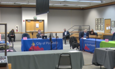 Pocatello City Council meeting on Nov. 12