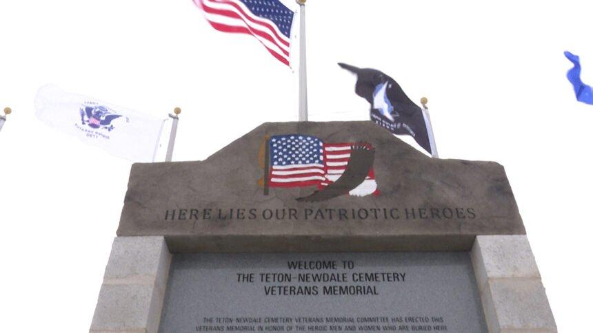 Teton-Newdale cemetery veterans memorial