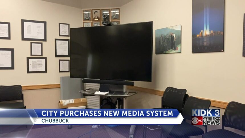 Chubbuck_purchases_new_media_system