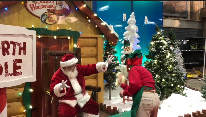 Find Santa near you