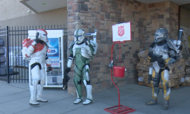 501st Legion from Star Wars collect donations for Salvation Army