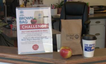 Brown Bag Challenge display