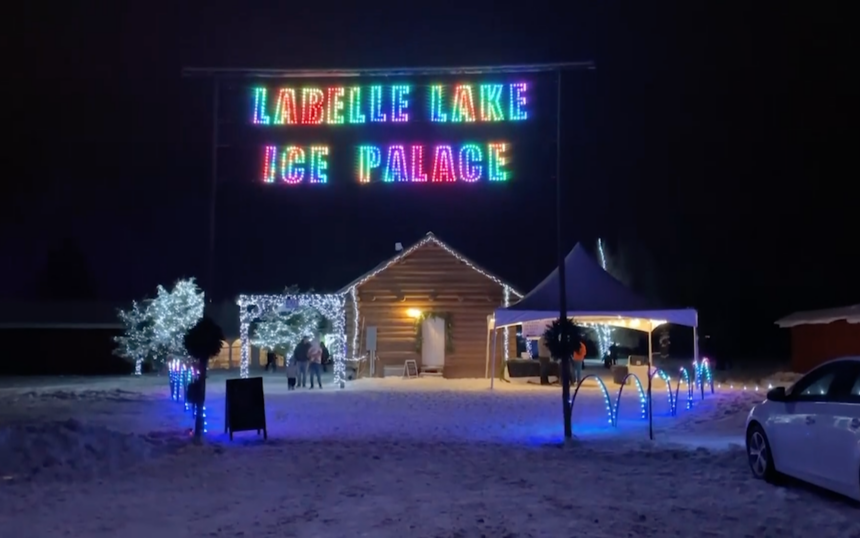 LaBelle Lake Ice Palace in Rigby, ID