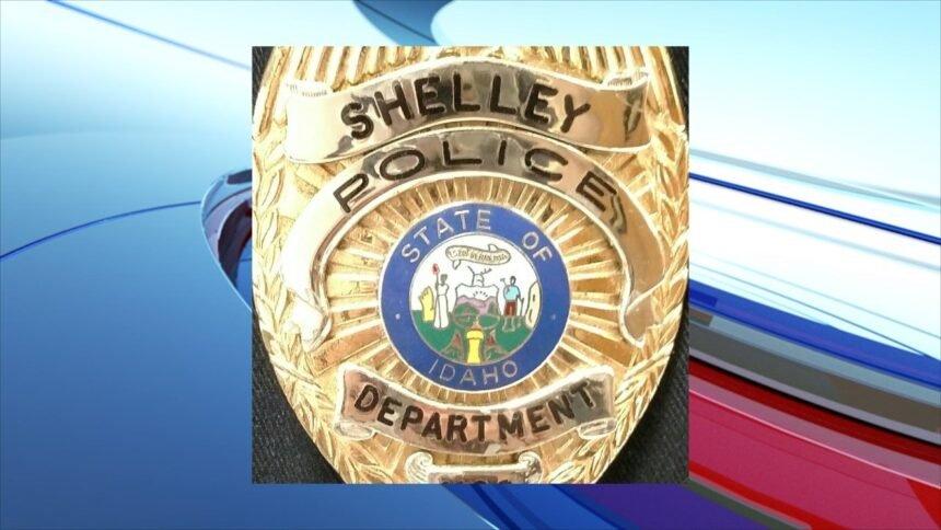 shelley police badge