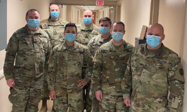 Idaho National Guard joins Portneuf Medical Center to fight COVID-19