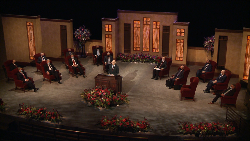 LDS Church General Conference held virtual only