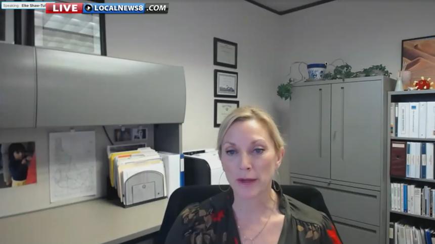 Elke Shaw-Tulloch Idaho vaccine update Jan 12