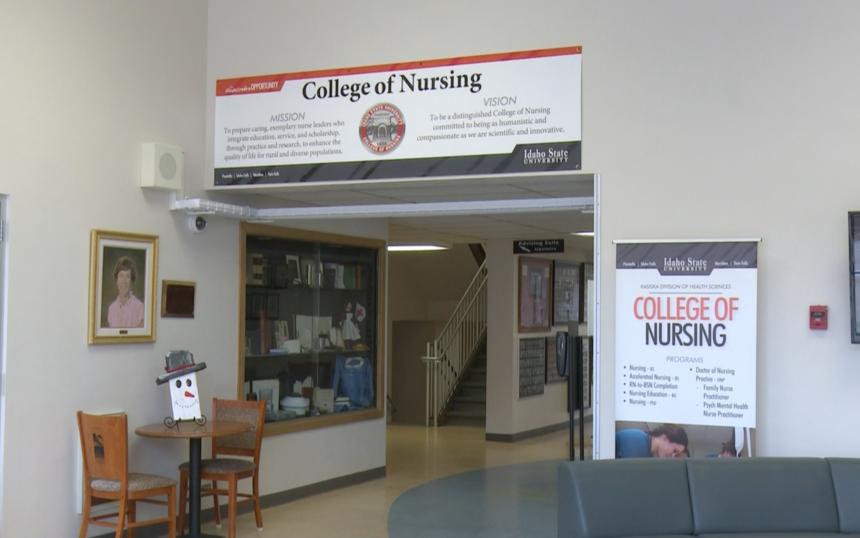 Helen V. Beckley Nursing Building at ISU