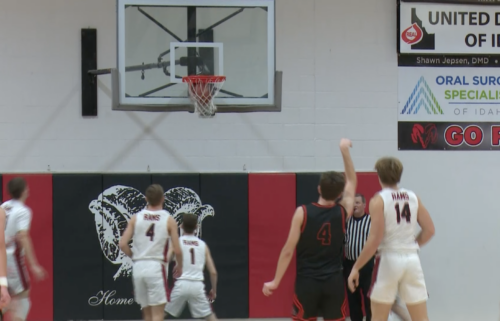 #4 Dylan Seeley makes three in Idaho Falls 51-47 win over Highland