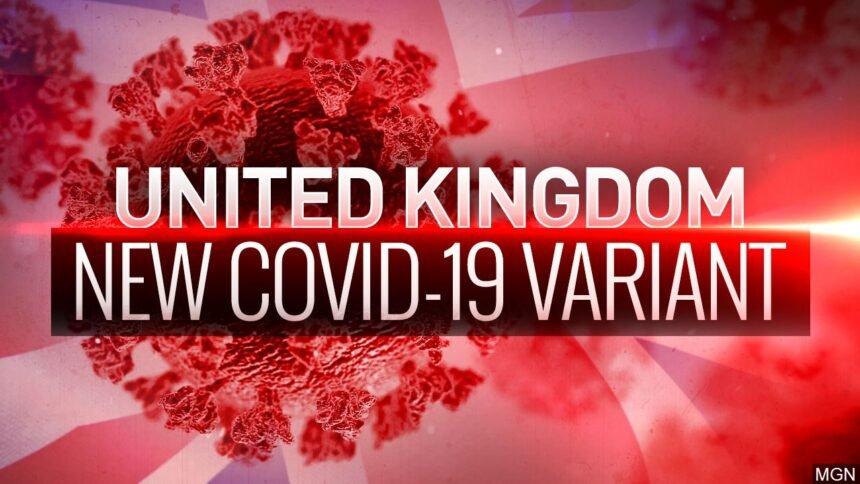 United Kingdom New COVID-19 Variant logo _MGN Online