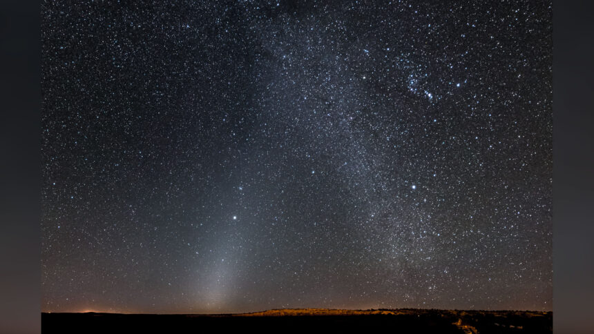 Zodiacal Light and the Milky Way