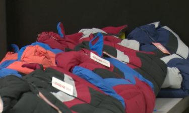 Coats donated to Tendoy Elementary School