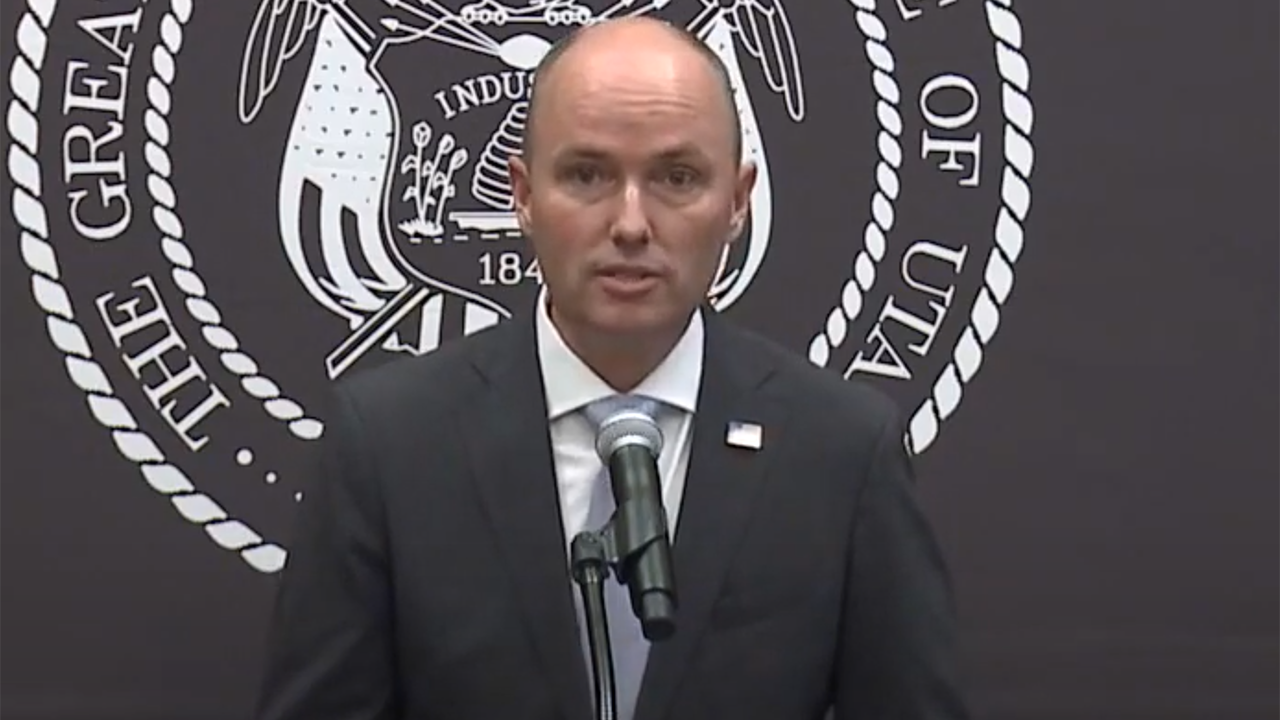 Utah Gov. Spencer Cox