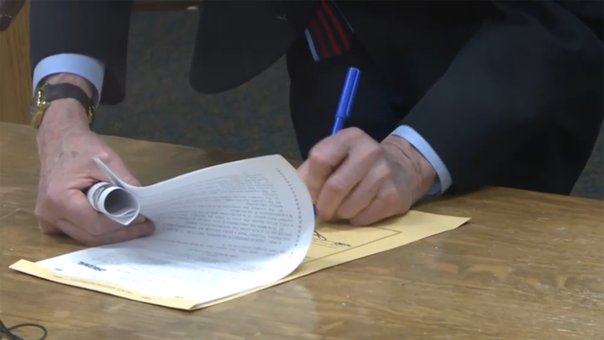 Gov. Little signs bill to compensate wrongly convicted Friday