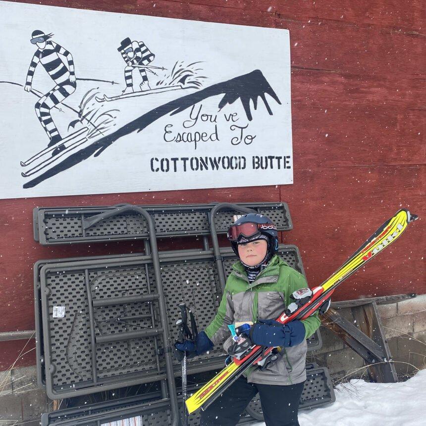 Henry Black at Cottonwood Butte