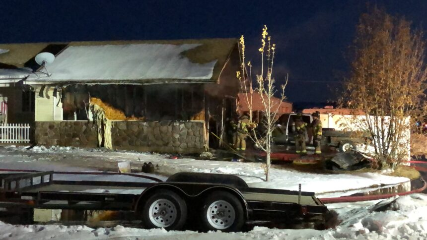 Juvenile hospitalized with minor injuries after garage fire1