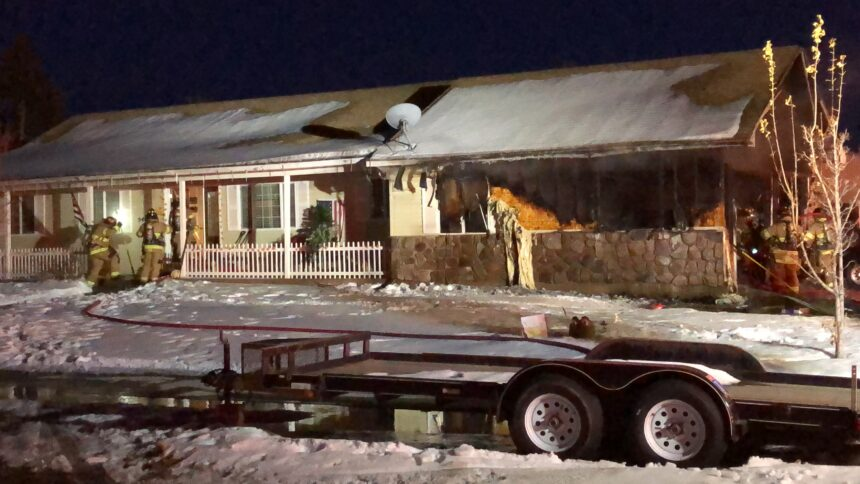 Juvenile hospitalized with minor injuries after garage fire2