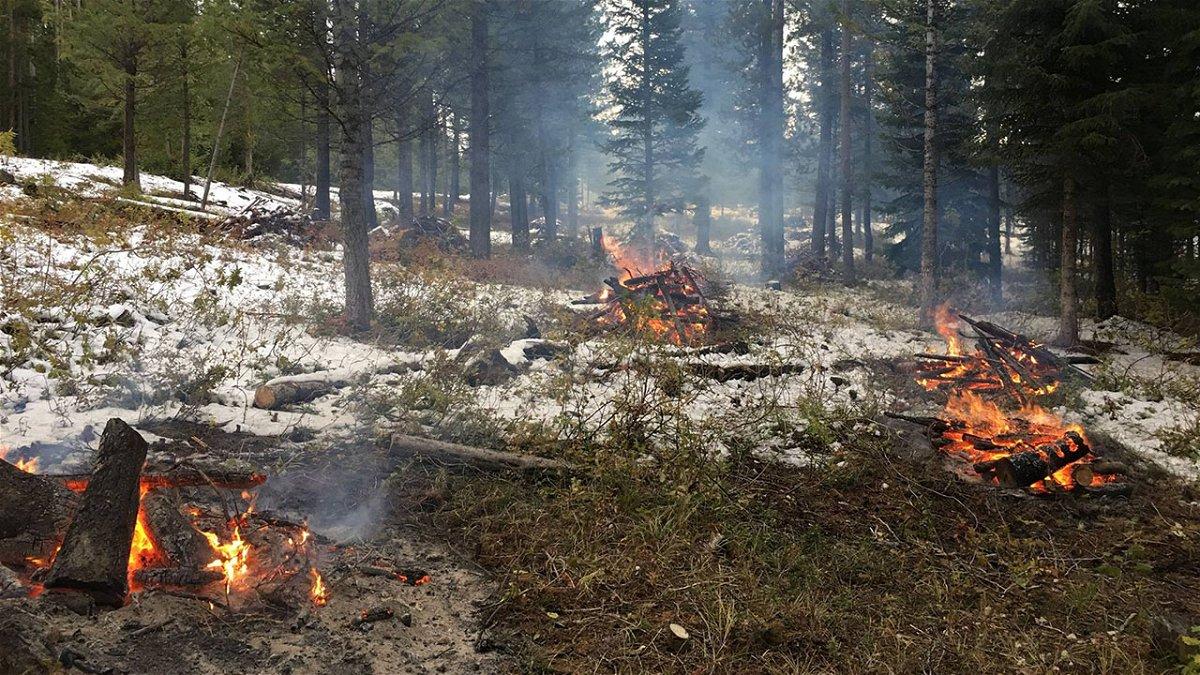 Pile Burning at Nordic Center