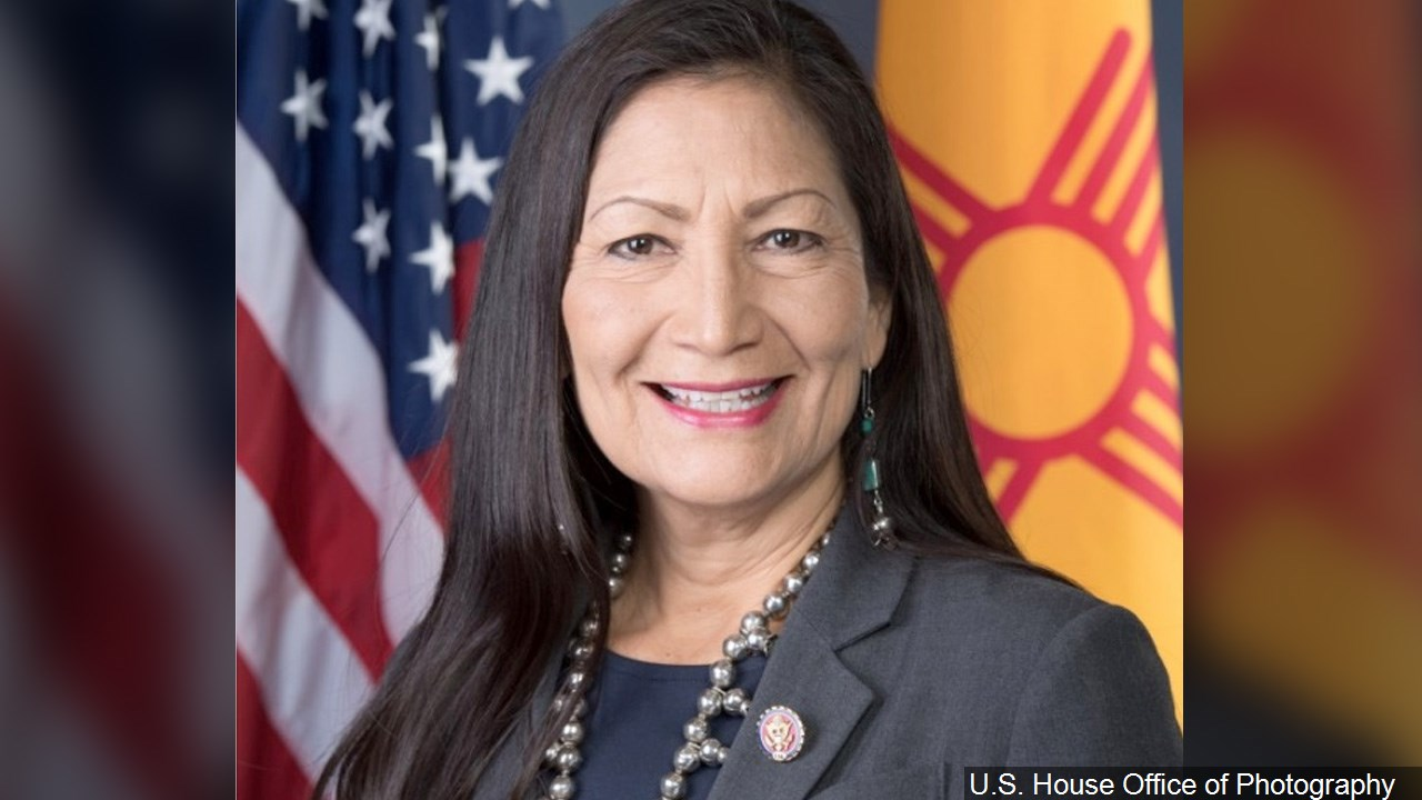 Secretary of the Interior Deb Haaland