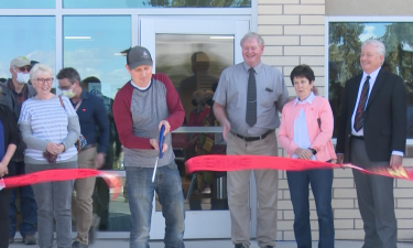 Ribbon-cutting ceremony at Power County Hospital