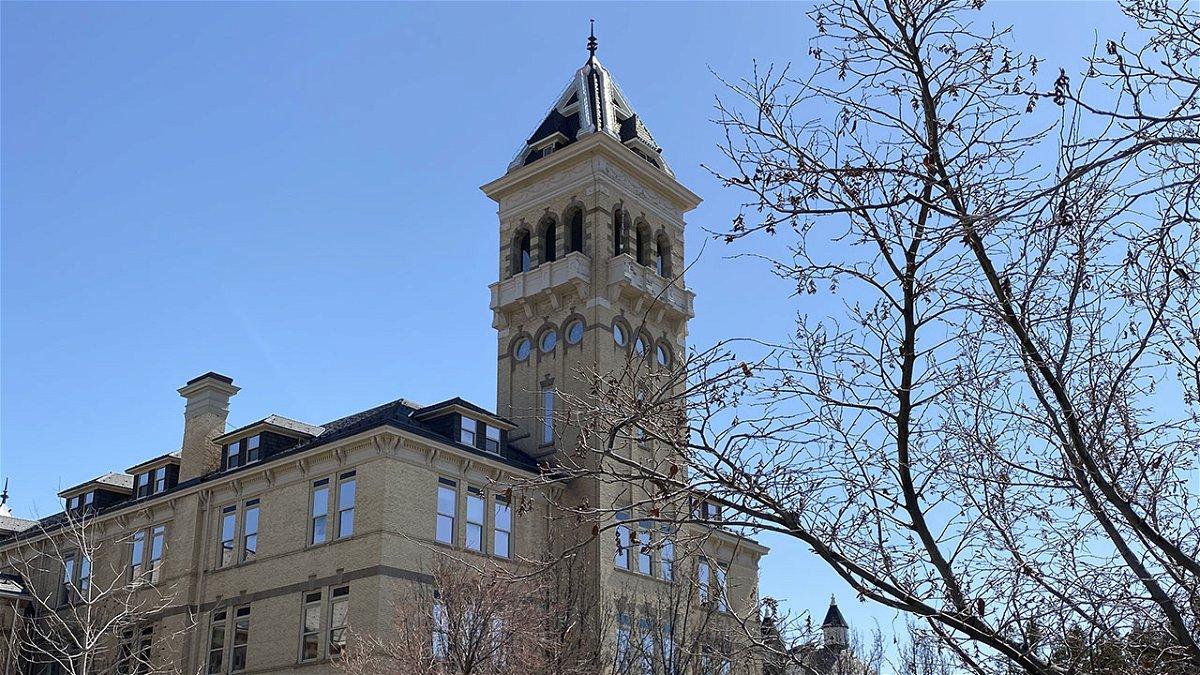 Old Main on Utah State University's campus