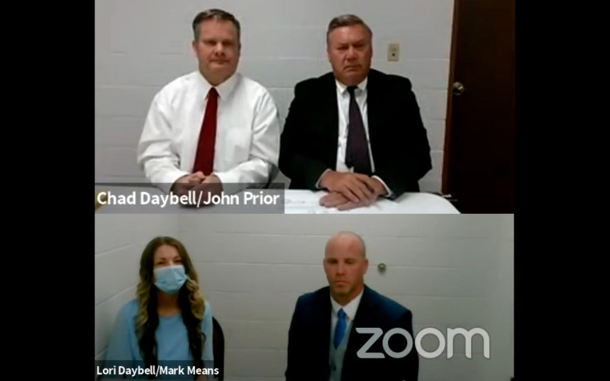 Chad Daybelland Lori Vallow Daybell in court May 26