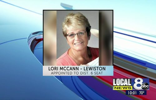 Lori McCann of Lewiston