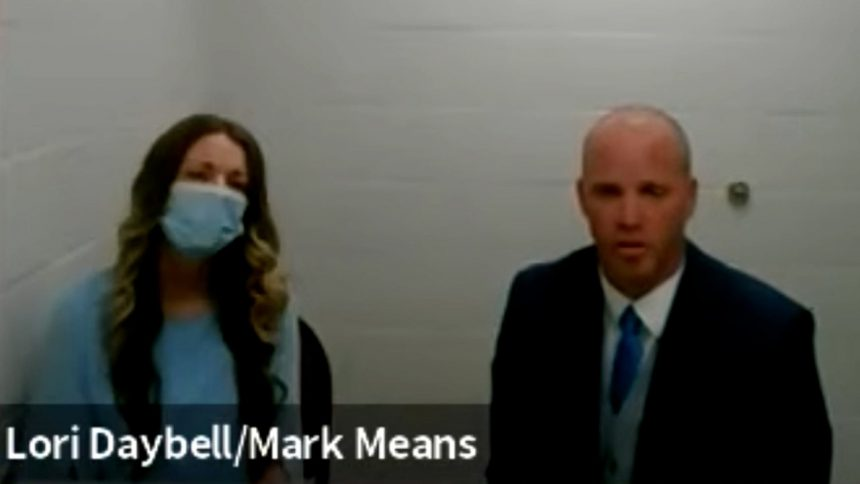 Lori Vallow-Daybel appears in court Wednesday May 26 with Mark Means.