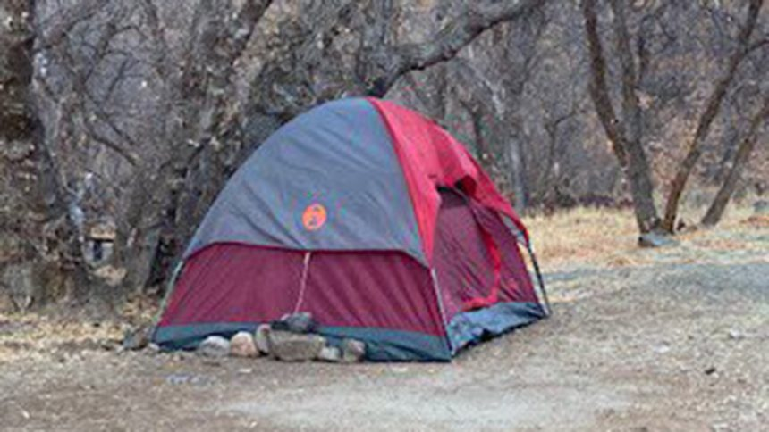 Utah woman missing for 5 months found living in tent4