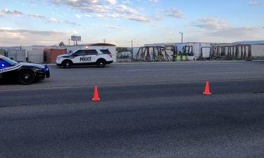 ISP Investigate rollover crash involving pickup