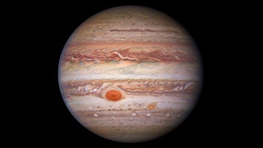 Hubble Visible View of Jupiter