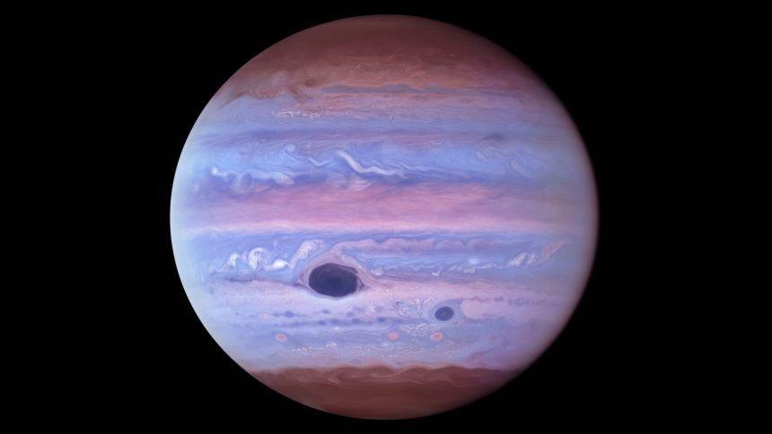 Hubble Ultraviolet View of Jupiter