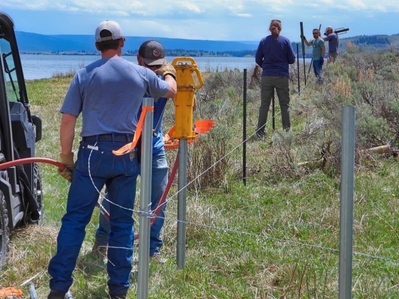 Collaborative efforts result in restoration of Henrys Lake shoreline4