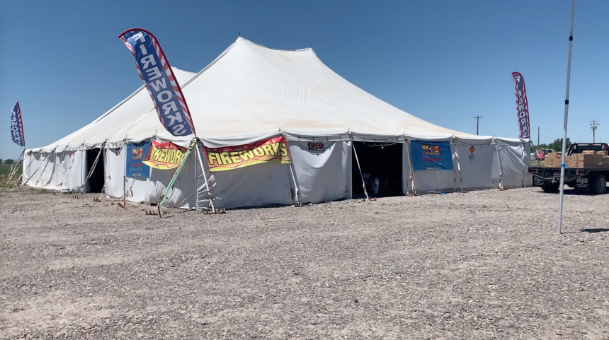 pow wow fireworks stand fort hall